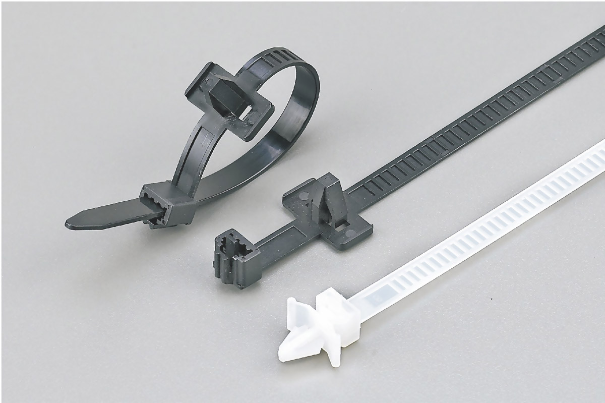 Push Mount Ties (Releasable) 13-1