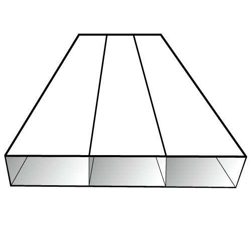 Macromolecule alloy cable tray