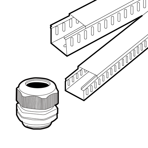 Cable Glands & Wiring Duct